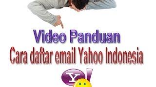 Cara Buat Email di Yahoo Indonesia - Daftar email yahoo Baru 2015