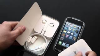 Обзор iPod touch 5 на 16 гигабайт, часть 1: распаковка