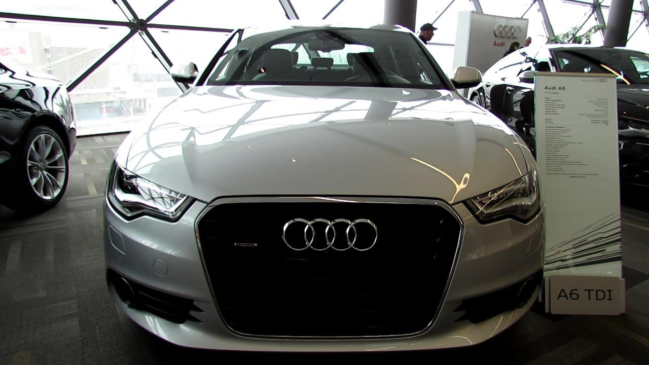2013 Audi A6 TDI - Exterior and Interior Walkaround - 2013 Ottawa Auto Show  - YouTube