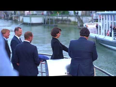 Schiffstaufe MS RHYSTÄRN In Basel
