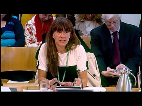 Education and Culture Committee - Scotttish Parliament: 1st October 2013