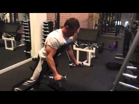 High Incline Bench Lateral Raise Youtube
