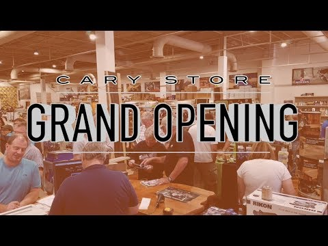 Cary Store Grand Opening