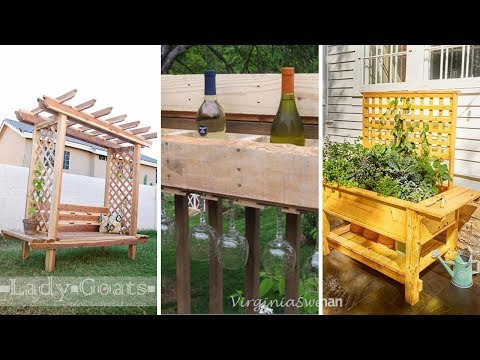 10 DIY Outdoor Wood Project ideas