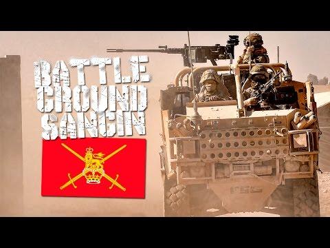 Arma 3 - Gameplay - De patrulla Sangin con los britanicos
