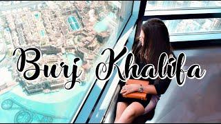 Visiting BURJ KHALIFA - tallest building in the world | DUBAI #1