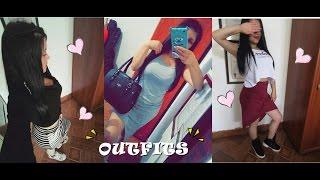 ♥ 3 OUTFITS CON FALDAS Y VESTIDOS-GEMELAS ORTEGA ♥