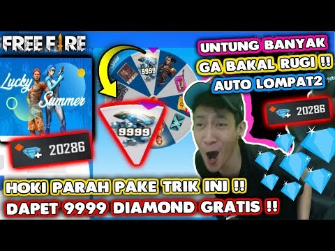 UNTUNG BANGET!! 9999 DIAMOND GRATIS SPIN AHOY LUCKY SUMMER HOKI PARAH WOI!! - GARENA FREE FIRE