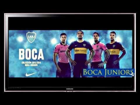 Nueva Camiseta Boca Juniors 2013 2014 - New Boca Juniors Jersey 2013/4