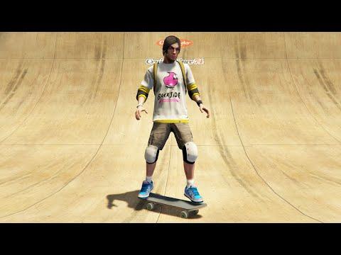 SKATE MOD! (GTA 5 Mods Funny Moments)