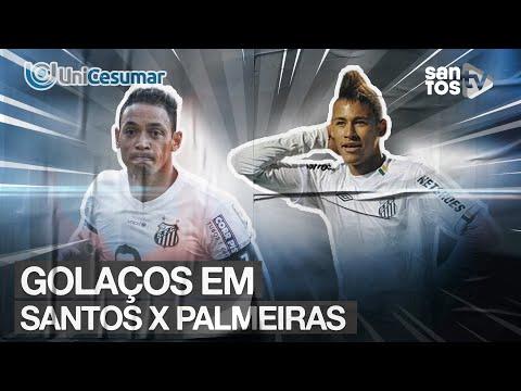 SANTOS X PALMEIRAS: QUAL O MAIOR GOL DO CLÁSSICO? | TOP UNICESUMAR 09