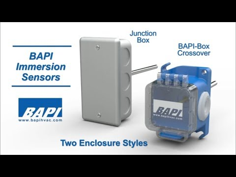 BAPI Immersion Temperature Sensor Overview
