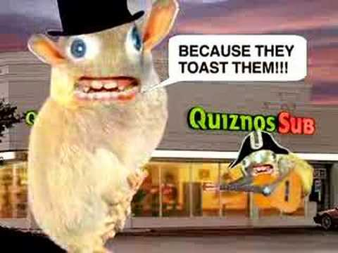quizno's sub commercial 2 - YouTube