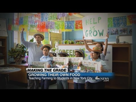 NYC School Teaches Farming to Young Students