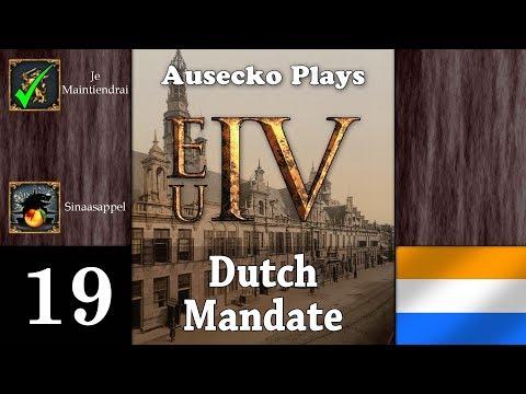 EUIV Dutch Mandate 19 [Maybe Castille's War Isn't So Bad]