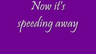 The Wanted - Lightning (Lyrics On Screen)