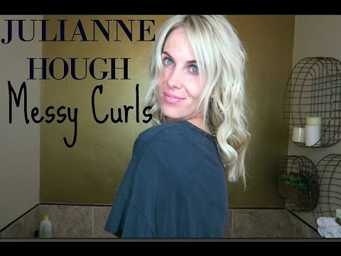 Julianne Hough Messy Curls