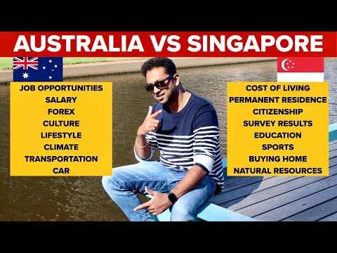 AUSTRALIA Vs SINGAPORE    WHICH COUNTRY IS BEST TO SETTLE ?? SK FAMILY TAMIL VLOGS