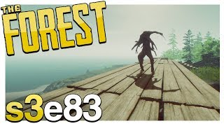 HE GOT IN | The Forest Gameplay S3E83 (Alpha v0.69)