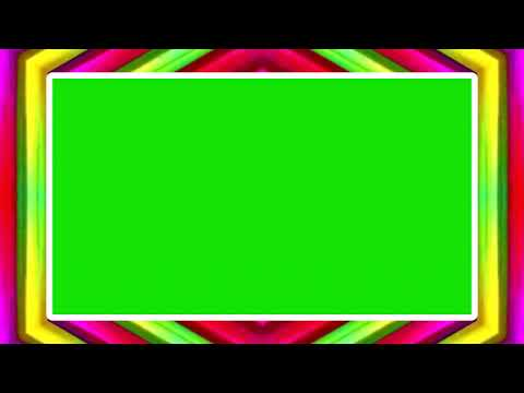 COLORFUL PICTURE FRAME GREEN SCREEN EFFECT 19 thumbnail