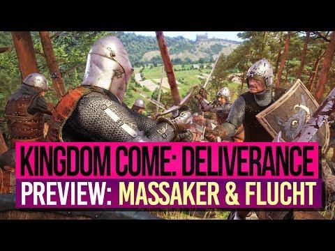 KINGDOM COME: DELIVERANCE 🎮 Preview 3: MASSAKER und FLUCHT!