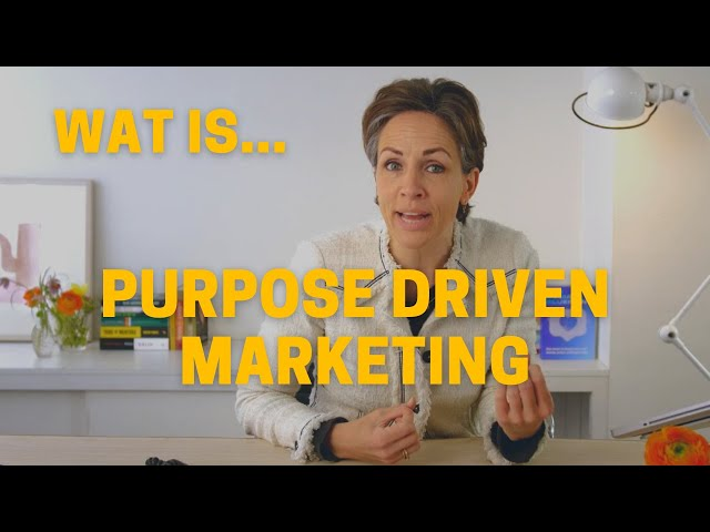 Wat is purpose driven marketing | Desk Vlog Q&A aflevering 9