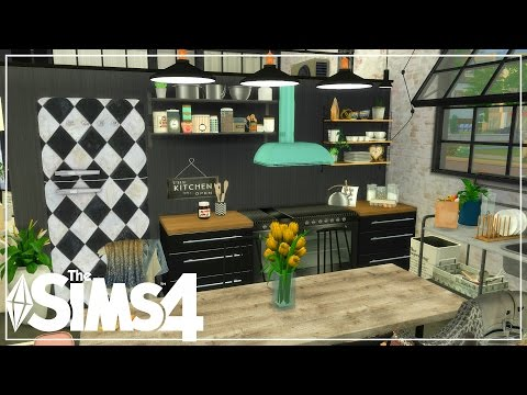 The Sims 4| Apartment Build| Industrial grunge inspired Apartment! (Speed Build) /Tokyo Stories!