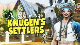 ArcheAge - Knugen's Settlers #1 - Building a Farm
