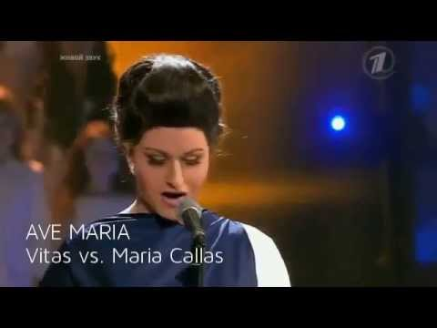 "AVE MARIA _ Vitas vs. Maria Callas _ from show ""Exactly the same ""2014  _ Long Version"