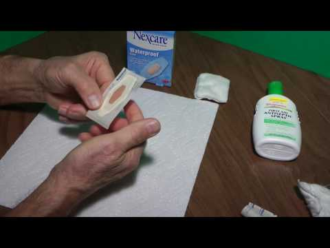 How to Apply Nexcare Band Aids