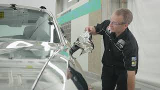 How to Wrap a Mirror with 3M™ Wrap Film Series 1080-GC451 Gloss Silver Chrome