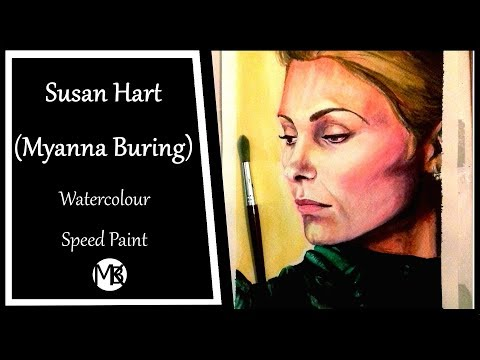Susan Hart Myanna Buring Speed draw