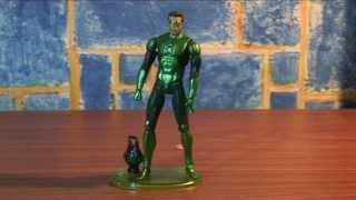 фигурка Зелёного фонаря Хэла Джордана. Movie Masters