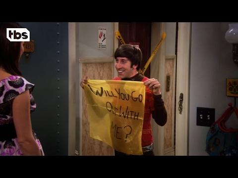 The Big Bang Theory: Flirting (Clip) | TBS
