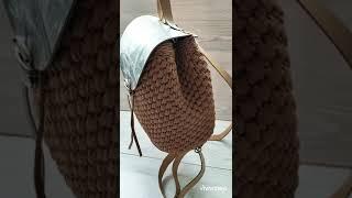 Фото Обзор рюкзака из полиэфирного шнура \