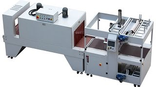 Side Sealing Shrink Packaging Machinery Automatic For Floor Brick Wood Furniture Tiles Sealer L Type
