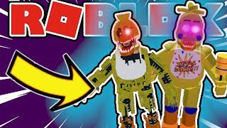 How To Get Nightmare Chica and Rockstar Chica Badges in Roblox Five Night's At Freddy's 2