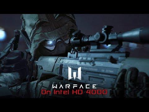 Intel HD 4000 : Warface
