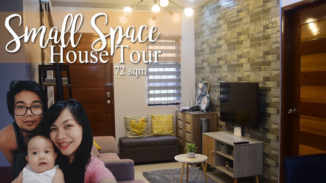 Small Space House Tour With Mezzanine Family Of 3 Philippines Youtube