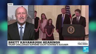 Baixar 'There's a real question about Brett Kavanaugh's honesty' - Christopher DICKEY