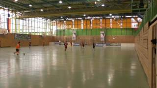 Stuttgarter Kickers U11 vs. Bayern München U11 1:2, Merkle Cup Germering, 07.02.2016