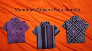 Cara Membuat Origami Baju Kemeja