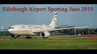 Edinburgh Airport Spotting - June 2015