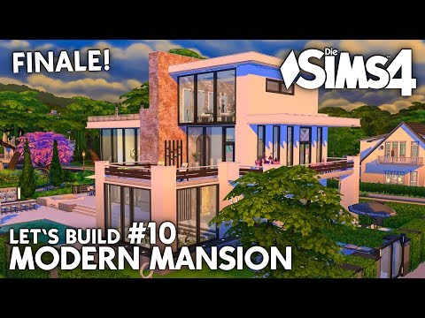 Party und Pool-Area | Die Sims 4 Haus bauen | Modern Mansion #10 (deutsch)