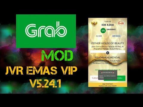 Grab Driver Modifikasi - JVR emas VIP v5.24.1    100% Gacorrrrrrrrr