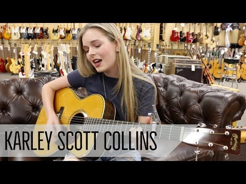 "Karley Scott Collins ""I hate that I love you"" - Martin Eric Clapton 000-28"