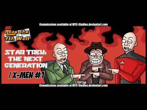 Star Trek: The Next Generation/X-Men #1 - Atop the Fourth Wall