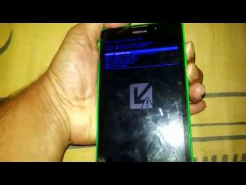 Nokia XL 1030 hard reset