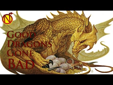 When Good D&D Dragons Go Bad| Dungeons and Dragons ...