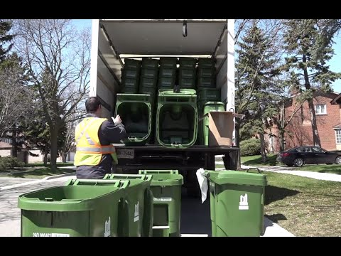 New Green Bin Deliveries And Collection